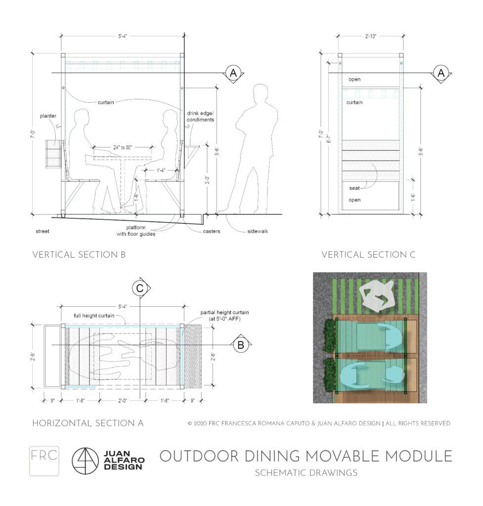 Al Fresco Dining Reimagined A Modular Restaurant Outdoor Dining System Frc